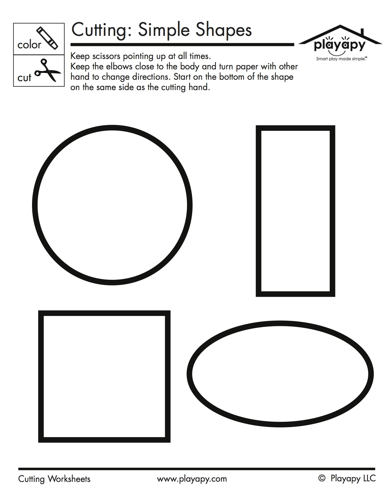 Practice Printables Set Playapy Playful Solutions